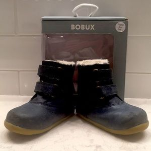 Bobux Aspen Step Up Boots, Navy, Size 3